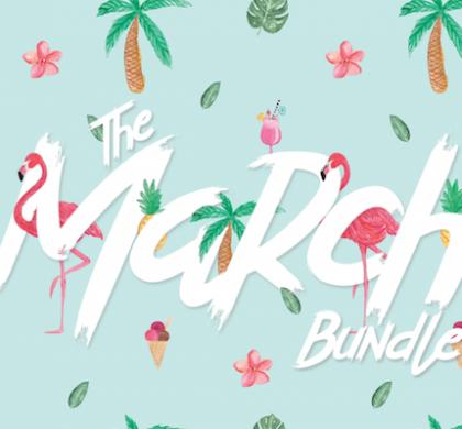 The March Script Font Bundle!