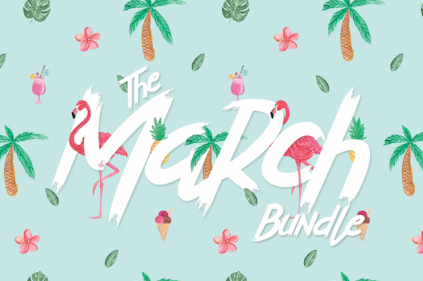 The March Script Font Bundle!