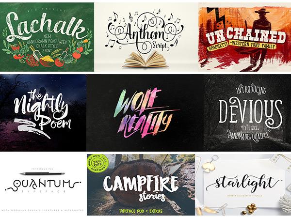 38 Exceptional Typefaces (Plus Extras)