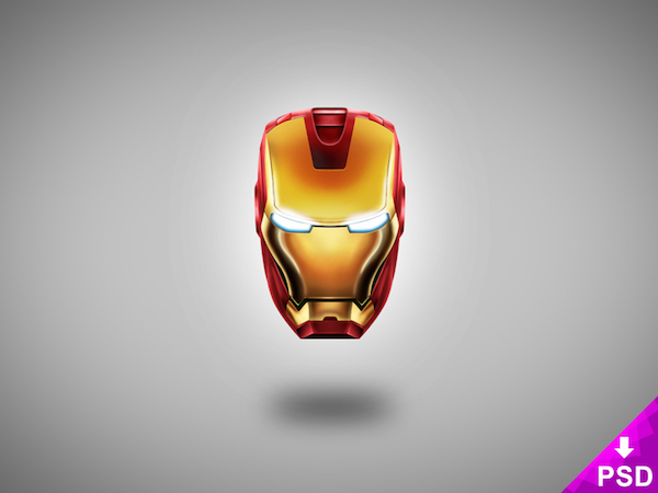Free Iron Man Background (PSD)