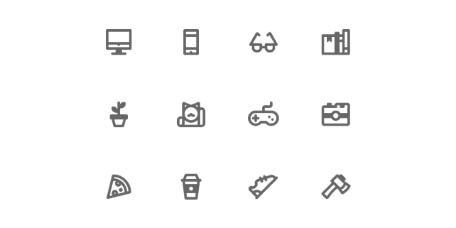Free 12 Designer's House Icons (Sketch)