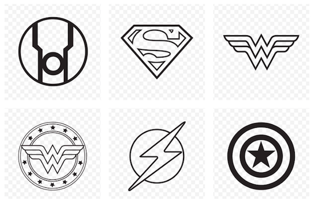 Free DC Comics Vector Logo Icons