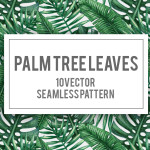 10 Lush Palm Tree Leaves Patterns
