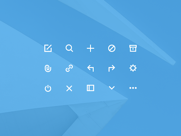 15 Free Glyph Icons PSD
