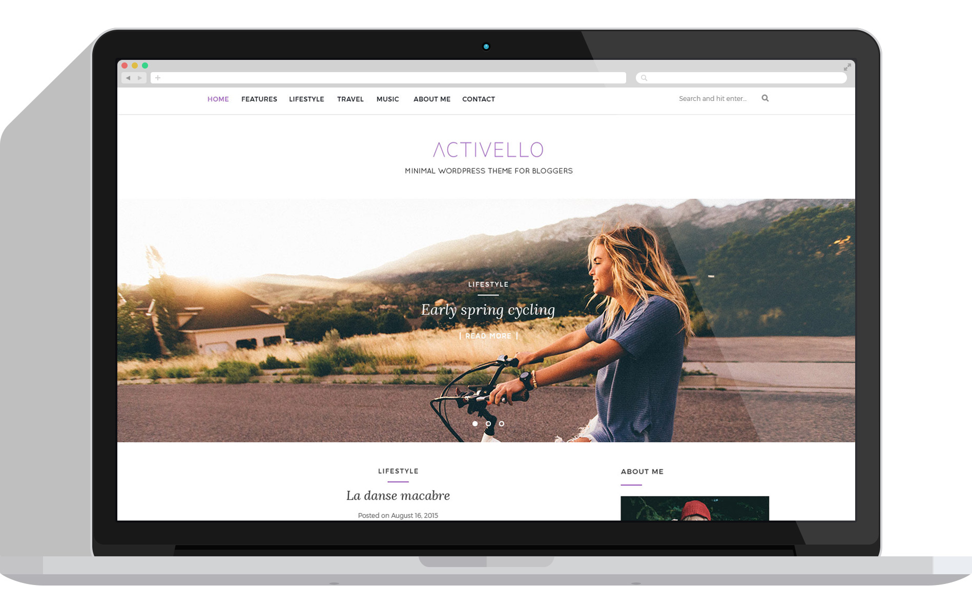 Activelo wp theme psdblast