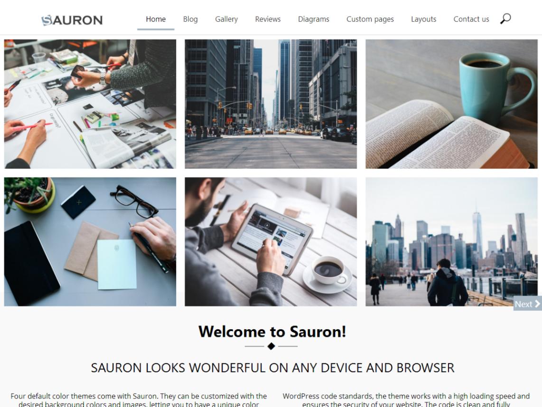 sauron wp theme psdblast