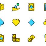 16 Free Casino Icons PSD