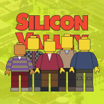 Silicon Valley Lego Illustration