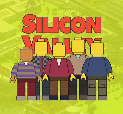 Silicon Valley Lego Illustration