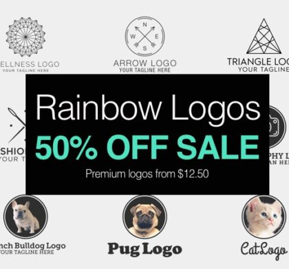 Rainbow Logos 50% Off All Logos