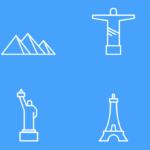 6 Free Landmark Icons