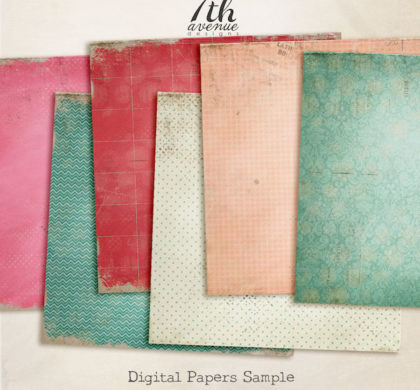 Free 6 Digital Paper Backgrounds