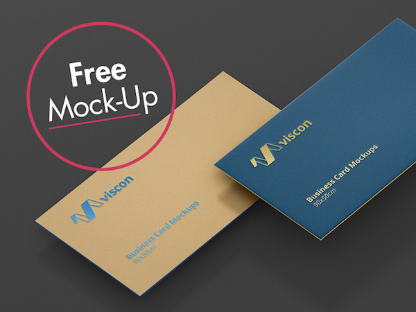 Business Card Mockup Freebie