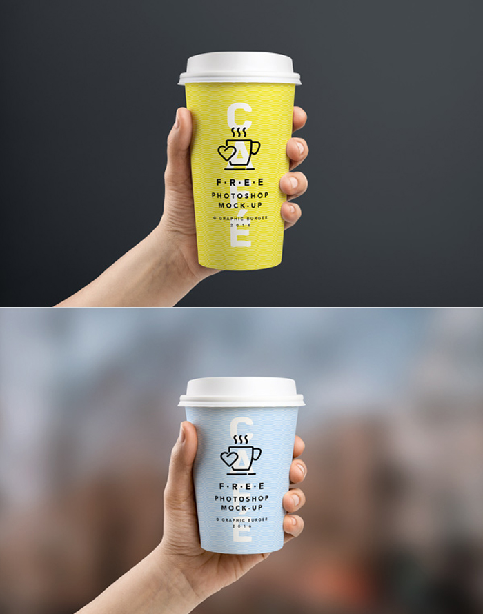 Coffee Cup Mock-up PSD