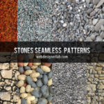8 Free Seamless Stones Patterns
