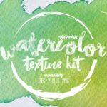 Handmade Watercolor Texture Kit