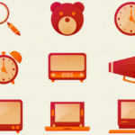 Free Retro Icons Pack PSD