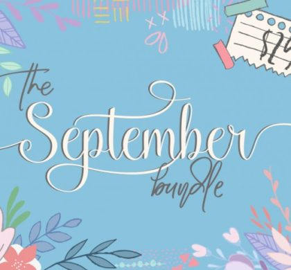 The September Bundle!