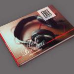 Photo Album Cover Mockup PSD