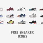 Free Sneaker Icons Set