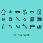 60 Free Line Icons