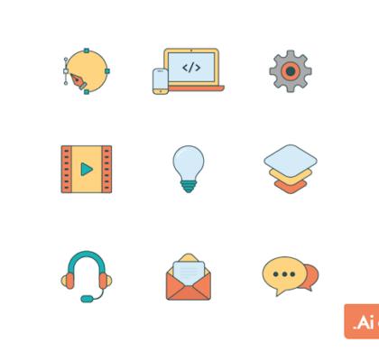 9 Free Web Icons