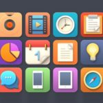 Softies Colorful Icons Bundle PSD