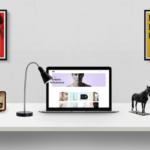 Free Desk Presentation Mockup