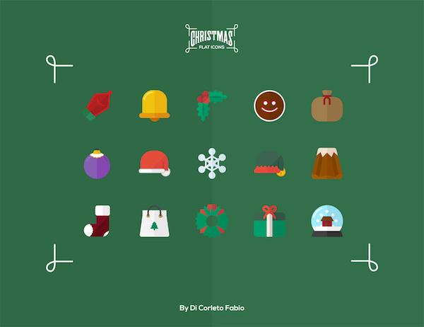 15 Free Christmas Icons