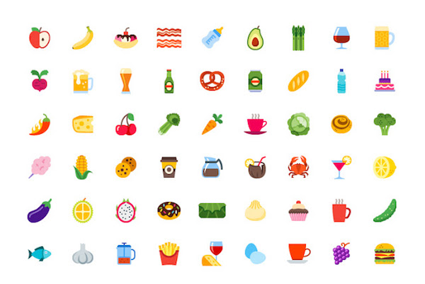 Food and Drink Icons Pack
