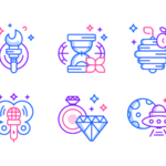 Free Idea Icons Set