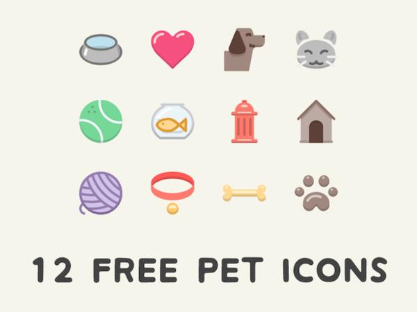 12 Free Pet Icons