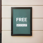 Free Outdoor Poster Mockup PSD