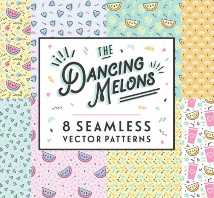 The Dancing Melons Pattern Pack