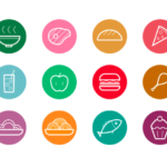 12 Free Food Icons