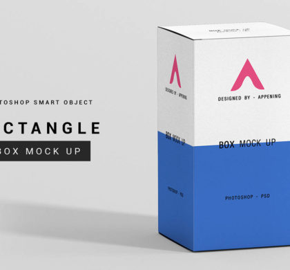 Rectangle Box Mockup Set