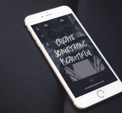 White iPhone 6 Plus Mockups PSD
