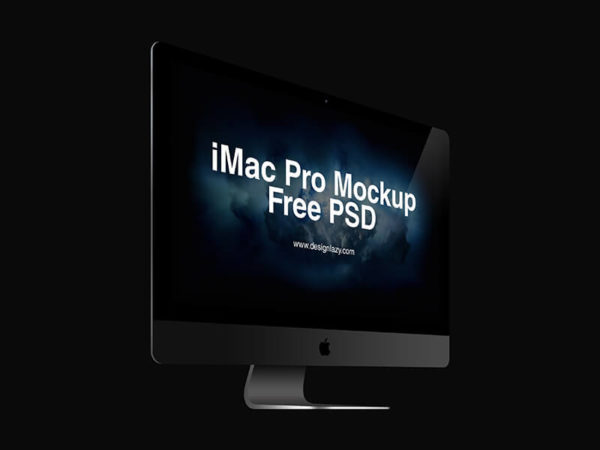 iMac Pro Perspective Mockup