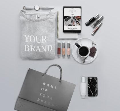 Free Branding Package Mockup