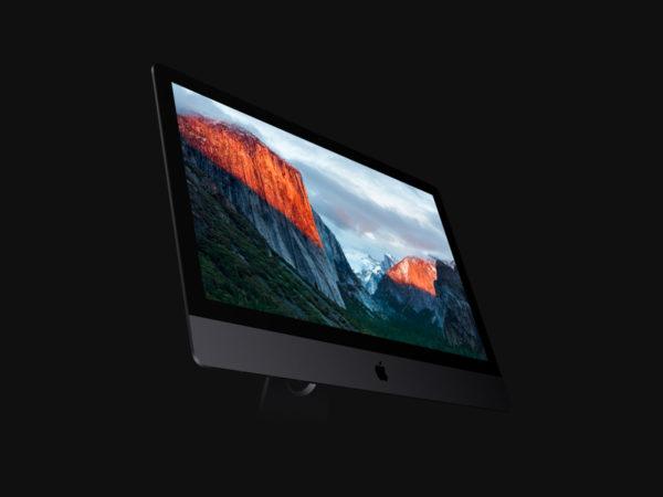 Free set of iMac Pro Mockups (PSD)